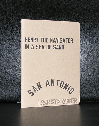 Lawrence Weiner # SEA OF SAND # 750 cps, mint-