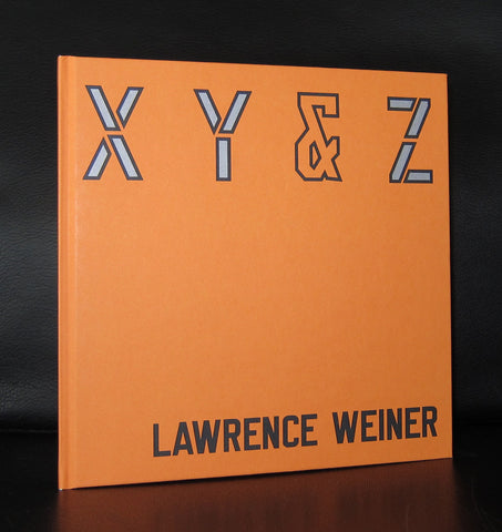 Lawrence Weiner # X Y & Z # 2006, mint