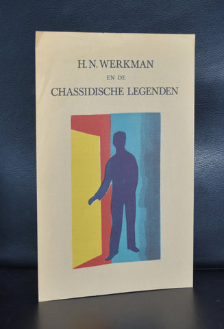 J. Martinet / H.N. Werkman # FOLDER CHASSIDISCHE LEGENDEN # ca. 1967, nm