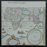 Wim Crouwel, Amsterdams Historisch Museum # THE WORLD ON PAPER # 1967, mint--