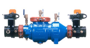 "Zurn Wilkins 3-350ABG 3"" Double Check Valve Assembly (DCVA) Supervised Grooved Butterfly Valves Lead-Free"