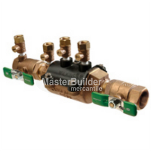 "Zurn Wilkins 12-350XL 1/2"" DCVA Double Check Valve Assembly Backflow Preventer Lead-Free"