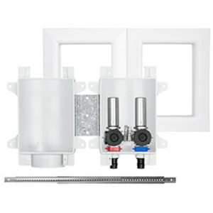 "Sioux Chief 696-G2313XF OxBox™ Washing Machine Outlet Box with MiniRester™ Water Hammer Arresters, ½"" PEX F1870 Connection"
