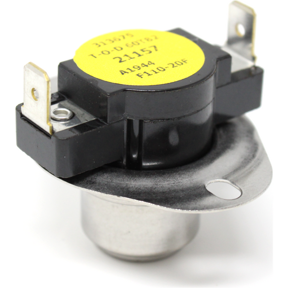 YORK 7975-3281 Emerson White Rodgers Fan Limit Switch 90 Degree Open, 110 Degree Closed