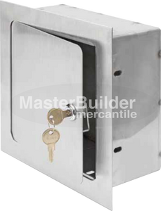 Acudor ARVB-8x8x8-SS Recessed Valve Box Stainless Steel