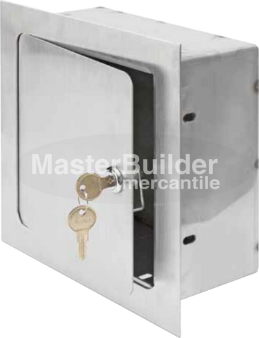 Acudor ARVB-12x12x6-SS Recessed Valve Box Stainless Steel