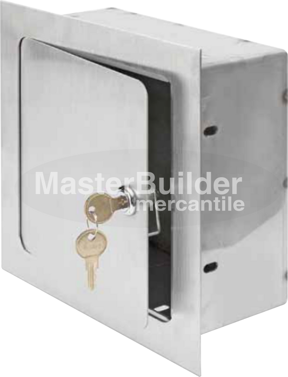 Acudor ARVB-8x8x4-SS Recessed Valve Box Stainless Steel