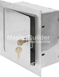 Acudor ARVB-12x12x8-SS Recessed Valve Box Stainless Steel