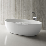 "Blu Bathworks BT0305N17 Halo 67"" blu∙stone™ Freestanding Bathtub"