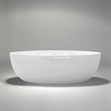 "Blu Bathworks BT0305 Halo 67"" blu∙stone™ Freestanding Bathtub"
