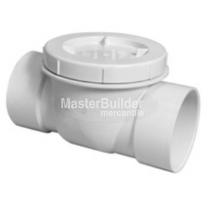 Zurn BW2930-PV PVC Backwater Valve, Flapper Type