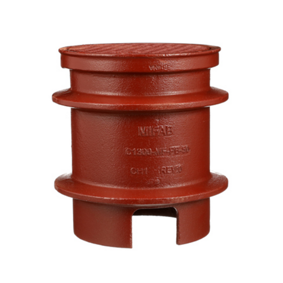 MIFAB C1300-MF-4 Heavy-Duty Cleanout Housing, Ductile Iron, 8.5