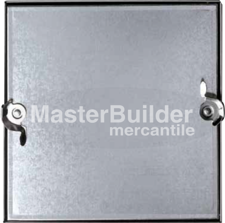 Acudor CD-5080 Galvanized, Insulated, No-Hinged Duct Access Door
