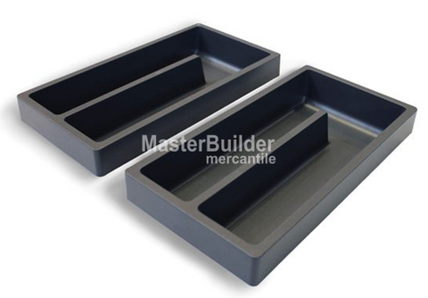 Blu Bathworks F01AC-01 Vanity Drawer Storage Compartment Kit