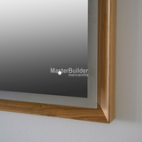 Blu Bathworks F45M1-0900 45° Series 900 Mirror with LED Lighting