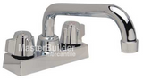 Zurn MS2620-DF1 Dual Handle Deck Service Faucet
