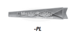 Zurn MS2620-PL Polyethylene Legs x4 Structural Composite w/ Self-Leveling Legs