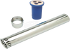 "ZURN P6000-A-AA-CP 1-1/2"" X 9"" FLUSH TUBE W/ VACUUM BREAKER AND TUBE NUT FOR WATER CLOSET FLUSH VALVES"