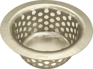 "Zurn P400-M4 Stainless Steel Drop-In Sediment Bucket for 4"" Shank Floor Drain Strainers"
