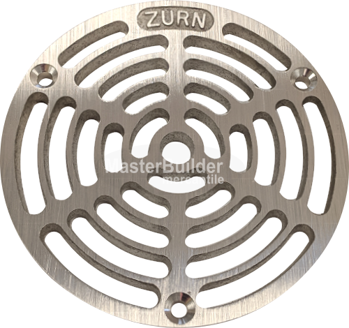 Zurn PXN-400-5A-GRATE ZXN415-A Series Replacement Nickel Bronze Slotted Grate