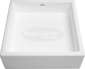 "Blu Bathworks SA0202 Box blu∙stone™ Countertop / Undermount Basin 16-1/4"" Square"