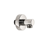 Blu Bathworks TC802 Modern Round Wall Union for Handshowers & Hoses