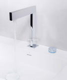Blu Bathworks TEU131 opus∙2 Electronica Two-Hole, Deck-Mounted Basin Mixer