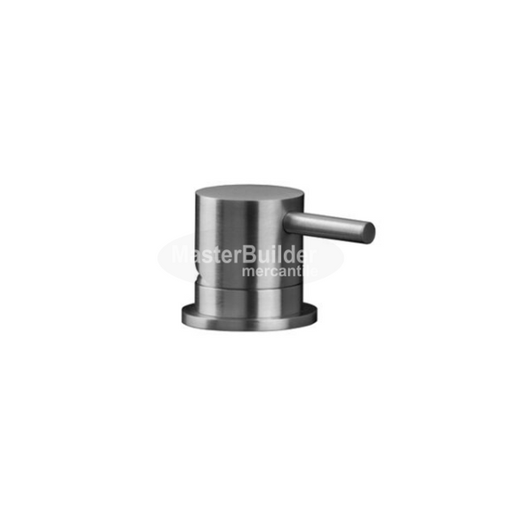 Blu Bathworks TOX711R/BT INOX Stainless Steel Deck-Mount Pressure Balance Tub/Shower Mixer