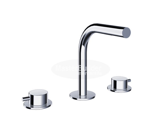 Blu Bathworks TSP141 pure∙2 Three-Hole Deck-Mount Basin Mixer