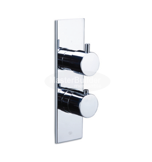 Blu Bathworks TSP922.01 Pure∙2 | Opus∙2 Thermostatic Tub/Shower Valve Trim with 2-Way Diverter