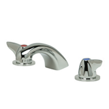 "Zurn Z831R3-XL Lead-Free Widespread Faucet with 5"" Cast Spout and Dome Lever Handles"