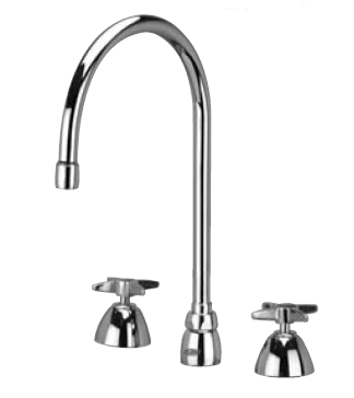 Zurn Z831C2-XL Lead-Free Widespread Faucet with 8