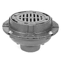 "Zurn Z554 9"" Diameter Medium-Duty Drain w/ Sure-Set Bucket"