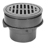 "Zurn Z556 ZN556 8"" Diameter Adjustable Heavy-Duty Drain"