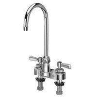 "Zurn Z812B1-XL Lead-Free 4"" Centerset Faucet with 5-3/8"" Gooseneck and Lever Handles"