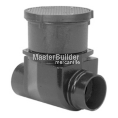 Zurn Z1095-15 Backwater Valve with Floor Level Cleanout, Flapper Type