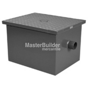 Zurn Z1170-400-2NH 15 GPM Grease Interceptor Fabricated Steel 30 LBS CapacityZurn Z1170-500-3NH 20 GPM Grease Interceptor Fabricated Steel 40 LBS Capacity
