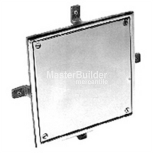 Zurn Z1460 Square Wall Access Panel, Bronze or Nickel Bronze