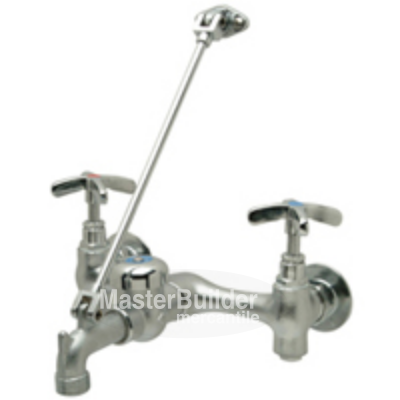 Zurn Z1996-SF Service Sink Faucet with Vacuum Breaker, Wall Brace, Pail Hook