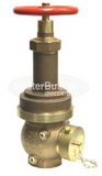 "Zurn Wilkins Z3000 2-1/2"" Pressure Reducing Fire Hose Valve with Male Hose Thread, Field Adjustable"