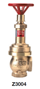 "Zurn Wilkins Z3004 2-1/2"" Pressure Reducing Fire Sprinkler Control Valve with Female Pipe Thread Field Adjustable"