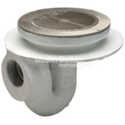 "Zurn Z300 11"" Flushing Rim Thoroflush Floor Drain"