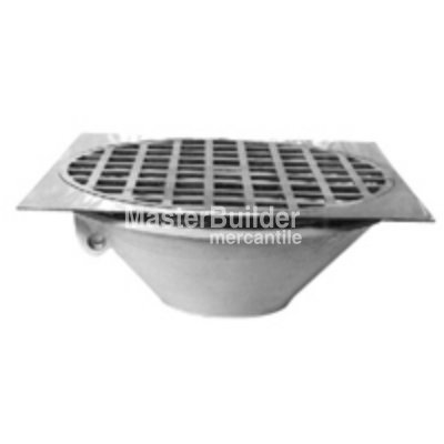 "Zurn Z319 25"" Large Capacity Thoroflush Drain"