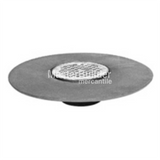 Zurn Z400-5BL Light-Duty Floor Drain Strainer with Dex-O-Tex Flange