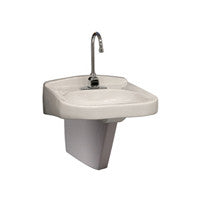 "Zurn Z5321 20"" x 23"" Wall Hung Lavatory w/ Single Faucet Hole"