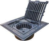 Zurn Z535 Heavy-Duty Aluminum Parking Structure Drain (Conforms to CSA S413M)