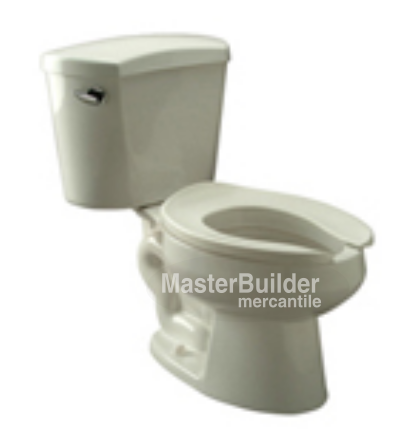 Zurn Z5530 1.6 GPF Elongated, Siphon Jet Two-Piece Toilet
