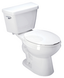 Zurn Z5535-K EcoVantage® High Efficiency, 1.28 GPF, Elongated, Siphon Jet Toilet