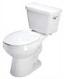 Zurn Z5535-K-RH EcoVantage® High Efficiency, 1.28 GPF, Elongated, Siphon Jet Toilet, Right-Hand Trip Lever