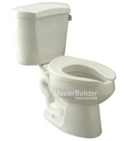 Zurn Z5550-RH 1.6 GPF ADA Elongated, Siphon Jet Two-Piece Toilet, Right-Hand Side Trip Lever